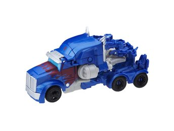 Transformers 1-Step Turbo Changer Optimus Prime 11cm