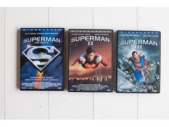 Superman, Stålmannen 1-3