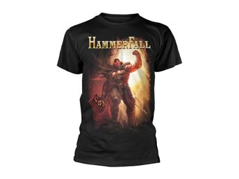 Hammerfall Dethrone And Defy  T-Shirt Small