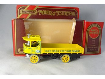 Atkinson Steam Wagon / Blue Circle / Matchbox Lesney / MoY