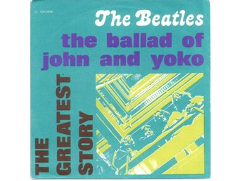 "BEATLES - Ballad Of John And Yoko  7"" Singel  Italien"