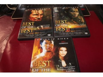 DVD-filmer: Best of the Best 1-3