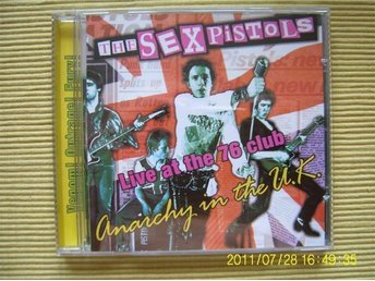 CD - The Sex pistols: Anarchy in the U.K.