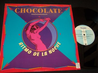 "CHOCOLATE - RITMO DE LA NOCHE 12"" 1990 BRAZIL MIX"