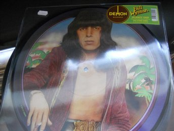 LP Bill Wyman - Monkey Grip Picture Disc  NY