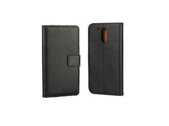 Motorola Moto G4 Plånboksfodral, Svart - Spånga - Motorola Moto G4 Plånboksfodral, Svart - Spånga