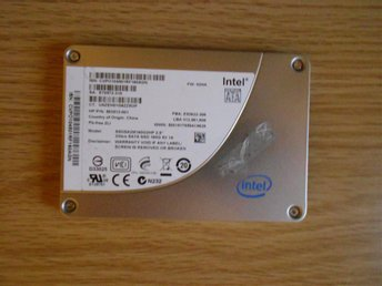 Intel ssd SATA 160GB 3Gb/s *DEFEKT*