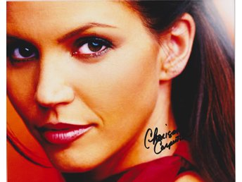 CHARISMA CARPENTER AMERICAN ACTRESS PRE-PRINTED AUTOGRAF FOTO