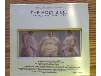 "MANIC STREET PREACHERS ""the holy bible"" de luxe 2 CD DVD - Jönköping - MANIC STREET PREACHERS ""the holy bible"" de luxe 2 CD DVD - Jönköping"