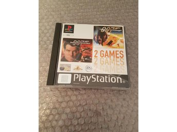 007 James Bond 2 games - PS1 PSX