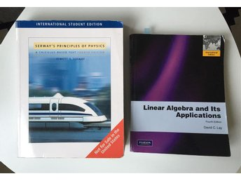 Studentlitteratur Linear Algebra & Serway's principles of physics - Göteborg - Studentlitteratur Linear Algebra & Serway's principles of physics - Göteborg