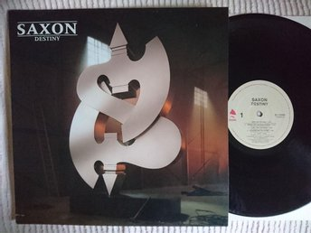 SAXON - DESTINY  1988   EXCELLENT!