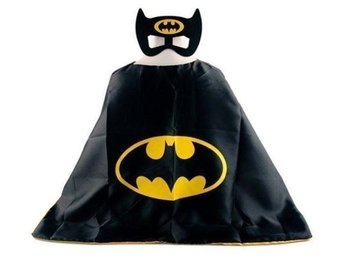 Batman cape med mask.