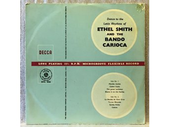 ETHEL SMITH Hammond organ & BANDO CARIOCA / Latin Rhythms - DECCA BML 8566