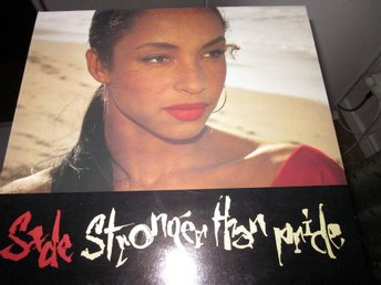 "SADE ""Stronger than pride"" lp"