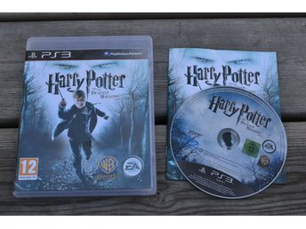 Harry Potter and the Deathly Hallows - Part 1 PS3 Playstation 3 Komplett Fint Sk