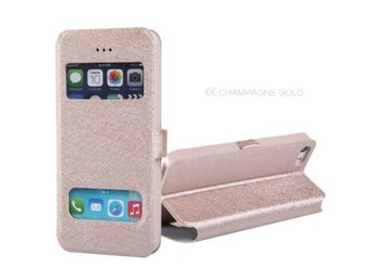 iPhone 4 / 4S Champagne Gold Flip Case