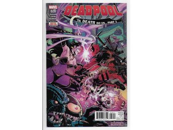 Deadpool Volume 4 # 28 NM Ny Import