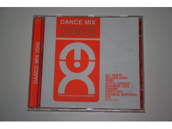 Dance Mix 2000; Olika artister: Heart of Asia, Pure Shores m.fl. - CD