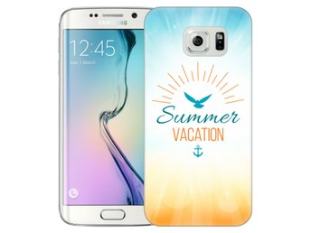 Samsung Galaxy S6 Edge Skal Summer Vacation