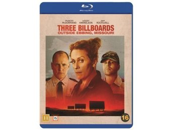 Three Billboards Outside Ebbing, Missouri (Blu-ray) Ny & inplastad / svensk utg