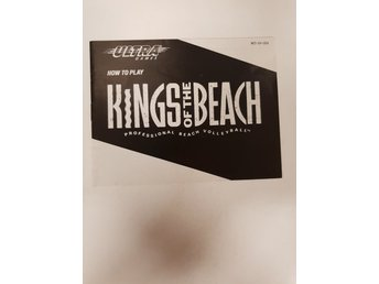 Kings of the Beach - Manual NES NINTENDO - USA