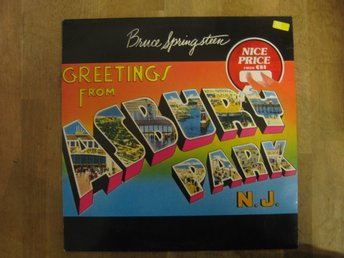 Bruce Springsteen- Greetings From Asbury Park, N.J. (LP)