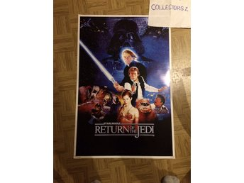 Star Wars Movie Poster- the return of the jedi