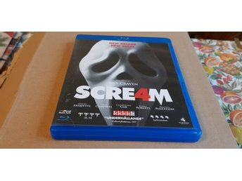 Scream 4 - Wes Craven *Blu-ray*