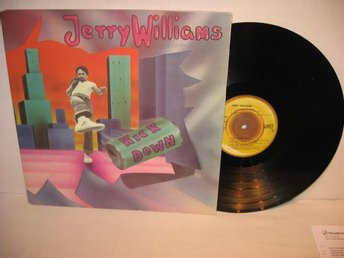 JERRY  WILLIAMS --- / KICK DOWN / --- 1976 --- LP