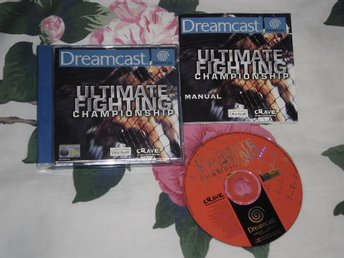 SEGA Dreamcast: Ultimate Fighting Championship