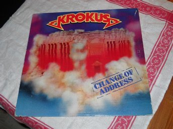 KROKUS--Change of address.   LP