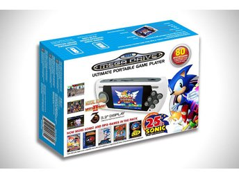 Sega Mega Drive Ultimate Portable Game Player Sonic 25th Anniversary - Megadrive