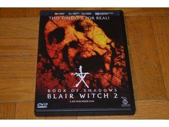 Book Of Shadows - Blair Witch 2 ( Jeffrey Donovan ) DVD - Töre - Book Of Shadows - Blair Witch 2 ( Jeffrey Donovan ) DVD - Töre