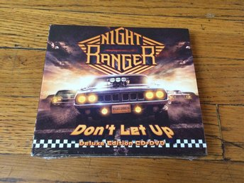 NIGHT RANGER Don't Let Up Deluxe Edition CD+DVD Digipak 2017 NEW Jack Blades - West Hollywood - NIGHT RANGER Don't Let Up Deluxe Edition CD+DVD Digipak 2017 NEW Jack Blades - West Hollywood