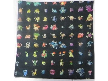 Pokemon Kudde / Cushion Cover