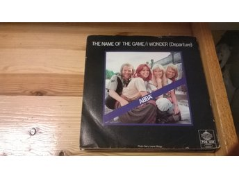 ABBA - The Name Of The Game, I Wonder (Departure), EP