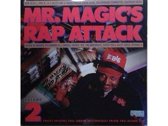 Various title* Mr. Magic's Rap Attack Volume 2* 80's GoldenHip Hop, Electro LPx2
