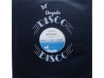 "Rory Block title*  You're The One* Disco 12"" UK"