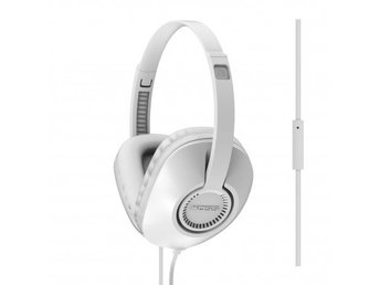 KOSS Hörlur UR23i Over-Ear One Touch Mic Vit
