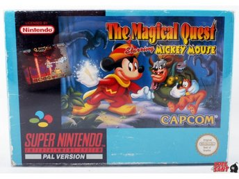 The Magical Quest Starring Mickey Mouse (inkl. Skyddsbox & Bergsala)