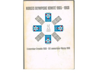 NORGES OLYMPISKE KOMITÉ 1965-1968 - Grenoble - Mexico