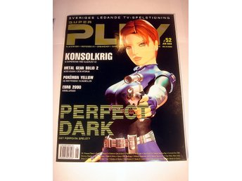 SUPER PLAY   HELT NY  JUNI 2000   PERFECT DARK -Special !!!