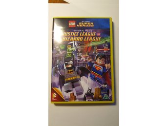 LEGO DVD. Super heros. . Justice league bizarro league.