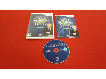WHO WANTS TO BE A MILLIONAIRE 1ST ED. till Nintendo Wii