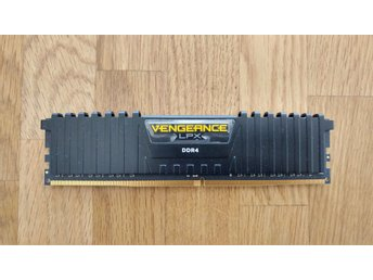 Corsair Vengeance LPX Black DDR4 PC21300/2666MHz CL16 8GB