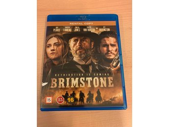 Brimstone (Blu-ray)-Dakota Fanning och Kit Harington