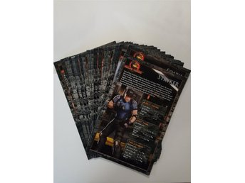Mortal Combat Moves Instruction Cards 28 Stora Kort