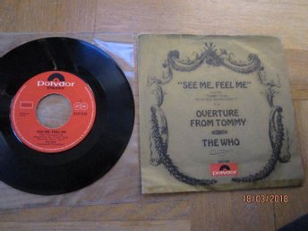 The Who, See me, Feel me, Polydor,  Overture from Tommy, singel