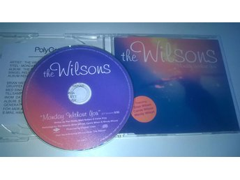 The Wilsons - Monday without you, CD, Single, Promo